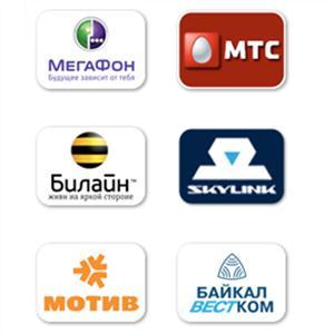 Операторы сотовой связи Большеустьикинского