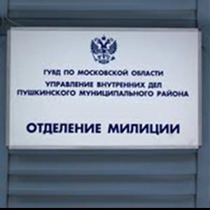 Отделения полиции Большеустьикинского